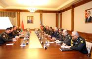 Azerbaijan, Belarus discuss prospects for development of military-technical co-op -   VIDEO