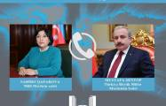 Chairs of Azerbaijani Parliament, Turkish National Assembly talk issues of mutual interest