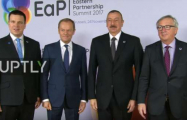 President Ilham Aliyev attending Eastern Partnership Summit in Brussels - PHOTOS