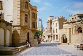 Architecture of  old Baku - PHOTOS