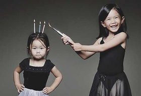 Father Takes Crazy Photos Of Daughters