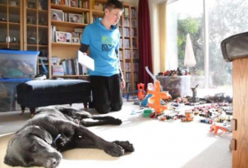 How an autistic teenager's life has been transformed by his support dog