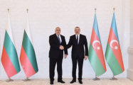 President Aliyev holds one-on-one meeting with Bulgarian PM