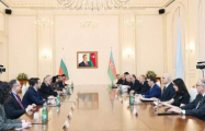 Azerbaijani president, Bulgarian PM meet in expanded format