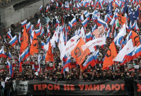 A March of Mourning for Boris Nemtsov