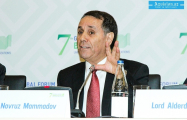 We appreciate support of the US for the Southern Gas Corridor - Novruz Mammadov