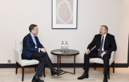 President Aliyev met with member of Mastercard Management Committee and Cisco Executive VP