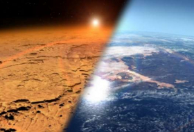 Ancient Mars may have thawed through methane bursts