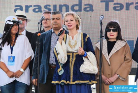 European Union anthem performed by youth in center of Baku - VIDEO, PHOTOS
