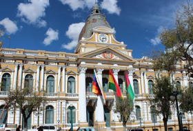 Bolivian parliament adopts resolution condemning denial of so-called Armenian genocide