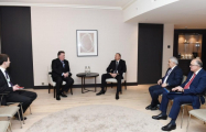 President Ilham Aliyev met with vice president of Chevron Corporation