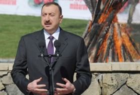 "President: ""Some foreign circles are waging an open campaign against Azerbaijan"""