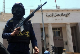 At least sixteen police officers killed in shoot-out in Egypt's Western desert: security sources