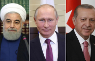 Syria peace talks: Putin discusses political solution with Erdogan & Rouhani amid ISIS demise