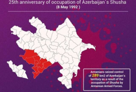 Occupation of Azerbaijan`s Shusha by Armenia - INFOGRAPHICS