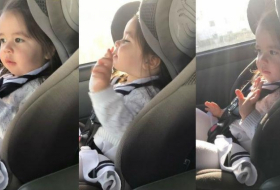 This toddler waiting for the beat to drop has gone viral - VIDEO