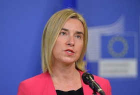 EU`s Mogherini `very surprised` at Turkish President Erdogan`s comments on detentions