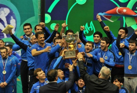 Azerbaijan wins their first ever Greco-Roman World Cup