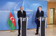 Azerbaijani President, NATO Secretary General made press statements