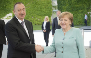 President Ilham Aliyev congratulates Merkel on election win