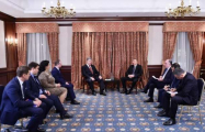 President Aliyev meets with Ukrainian counterpart