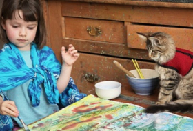 The extraordinary art of autistic `five-year-old Monet`