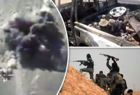 ISIS secrets revealed in video as 200 jihadis blown to pieces