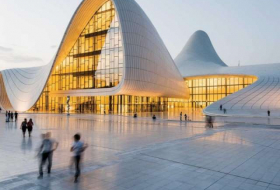 Emerging fashion capital by the sea: Azerbaijan hits the runway