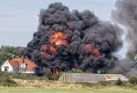 Air show crash: Police say 11 people are `highly likely to be dead`