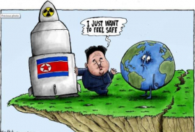 For Kim Jong Un, nuclear weapons are a security blanket - CARTOON