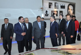 President of Pakistan visits Heydar Aliyev Center - PHOTOS
