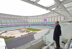 Ilham Aliyev buys first ticket to EuroGames