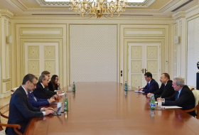Azerbaijani president receives delegation led by Italian Minister of Economy and Finance