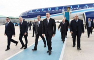 President Ilham Aliyev arrives in Turkey -