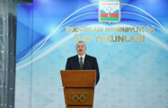 Azerbaijani president attends ceremony dedicated to 2017 sport results