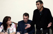 Family members of Shahbaz Guliyev concern over his health condition