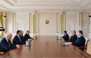 President Ilham Aliyev receives Russian State Duma delegation