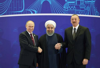 Trilateral meeting of presidents of Azerbaijan, Iran&Russia held in Tehran - PHOTOS, UPDATED