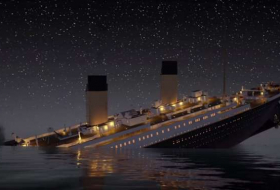Titanic sinks in REAL TIME - 2 hours 40 minutes | VIDEO