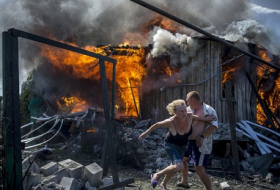 In the War Zone of Eastern Ukraine