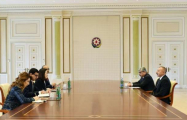 President Aliyev receives World Bank delegation